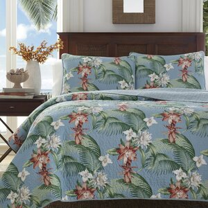 Southern Breeze Cotton Quilt Set by Tommy Bahama Bedding