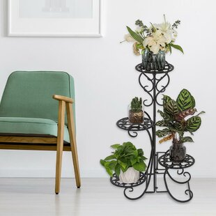Emmie Round MultiTiered Plant Stand