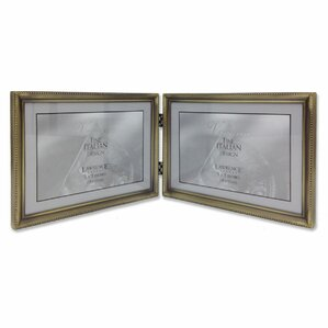 levingston bead hinged double picture frame - Double Frame