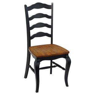 Allaire Solid Wood Dining Chair (Set of 2) Lark Manor