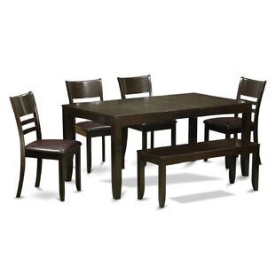 Lockmoor 6 Piece Dining Set