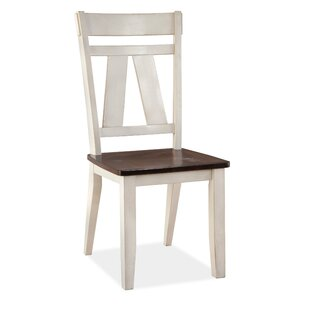 Keturah Solid Wood Side Dining Chair (Set..