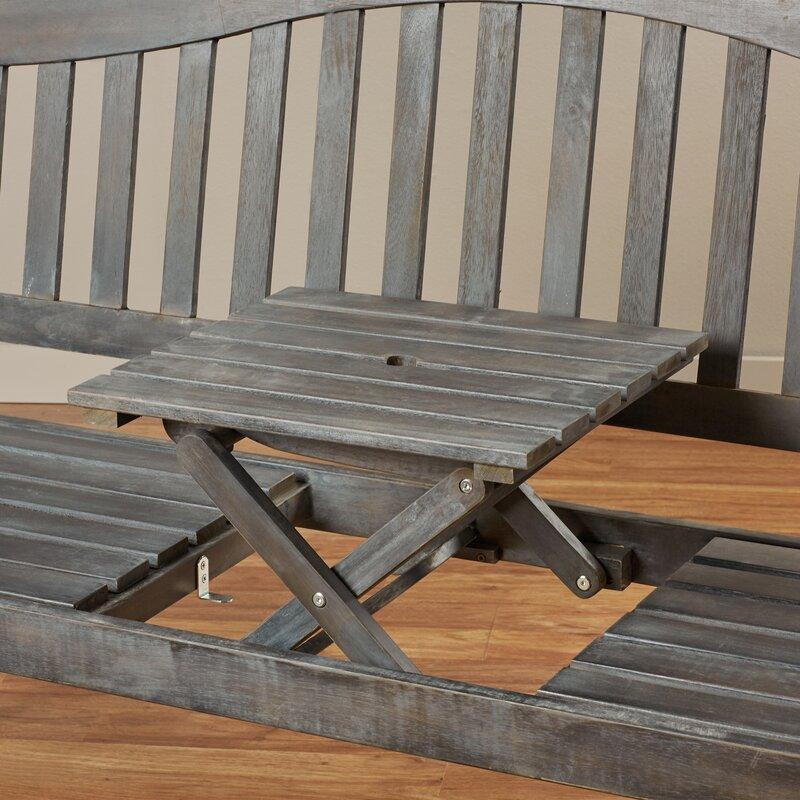 Volusia Wooden Garden Bench