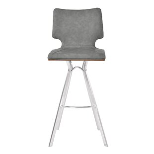 Lucker 26 Bar Stool by Orren Ellis
