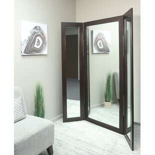 Price comparison Madelyn Marie Full Body Trifold Accent Mirror By Brandt Works LLC