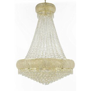 Rosdorf Park Cushman 27-Light Empire Chandelier