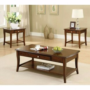 Klimek 3 Piece Coffee Table Set Alcott Hill