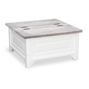 Nadine Square Coffee Table With Storage