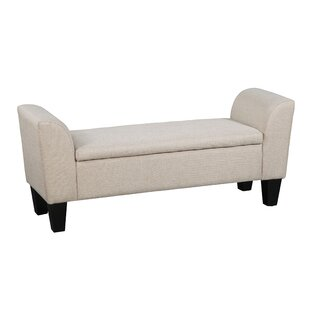 Inexpensive Claire Upholstered Storage Bench By Grafton Home