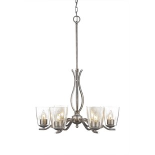 Hiroko 6-Light Candle-Style Chandelier By Red Barrel Studio