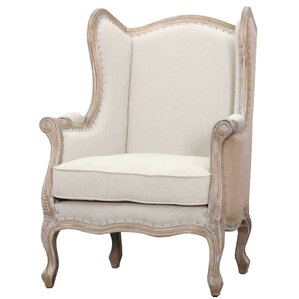 guinevere wingback chair