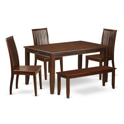 Araminta 6 Piece Solid Wood Dining Set Alcott Hill