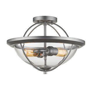 Trent Austin Design Boylon 2-Light Semi Flush Mount