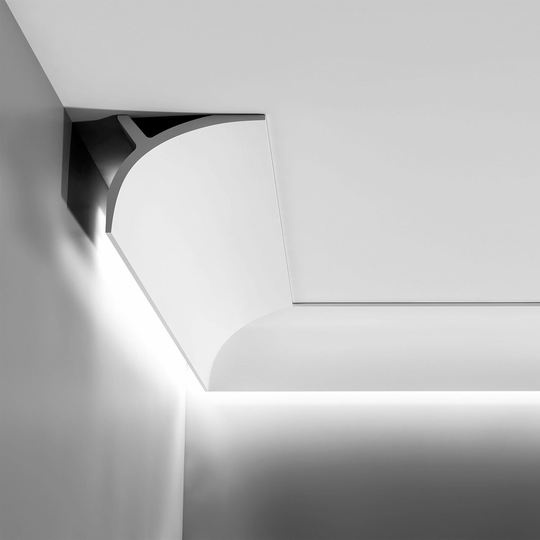 Orac Decor High Density Polyurethane Primed White 4 3 8 H X 78 W X 5 1 2 D Crown Reviews Wayfair