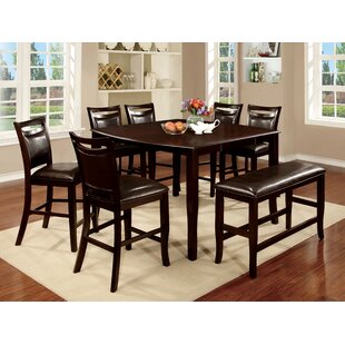 Neymar 8 Piece Extendable Dining Set Hokku Designs