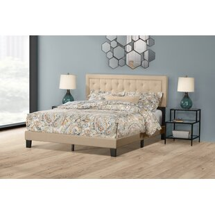 Keesler Upholstered Panel Bed by Alcott Hill