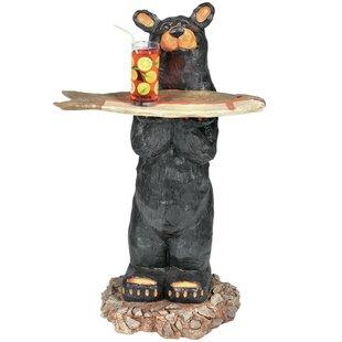 RAM Game Room Bear Waiter Outdoor Table