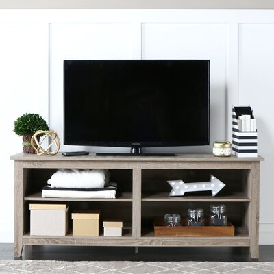 Beachcrest Home Sunbury TV Stand for TVs up to 60 Color: Driftwood