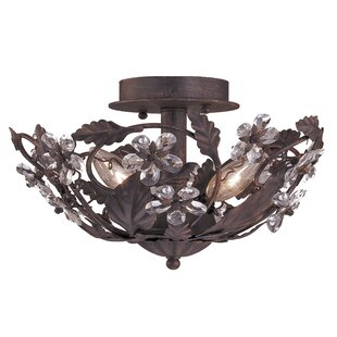 Alta 3-Light Semi Flush Mount by Viv + Rae