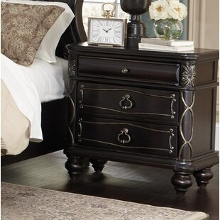 MacKinnon 3 Drawer Nightstand