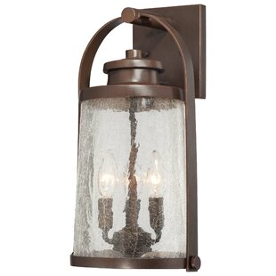 Great Outdoors by Minka Travessa 3-Light Outdoor Wall Lantern