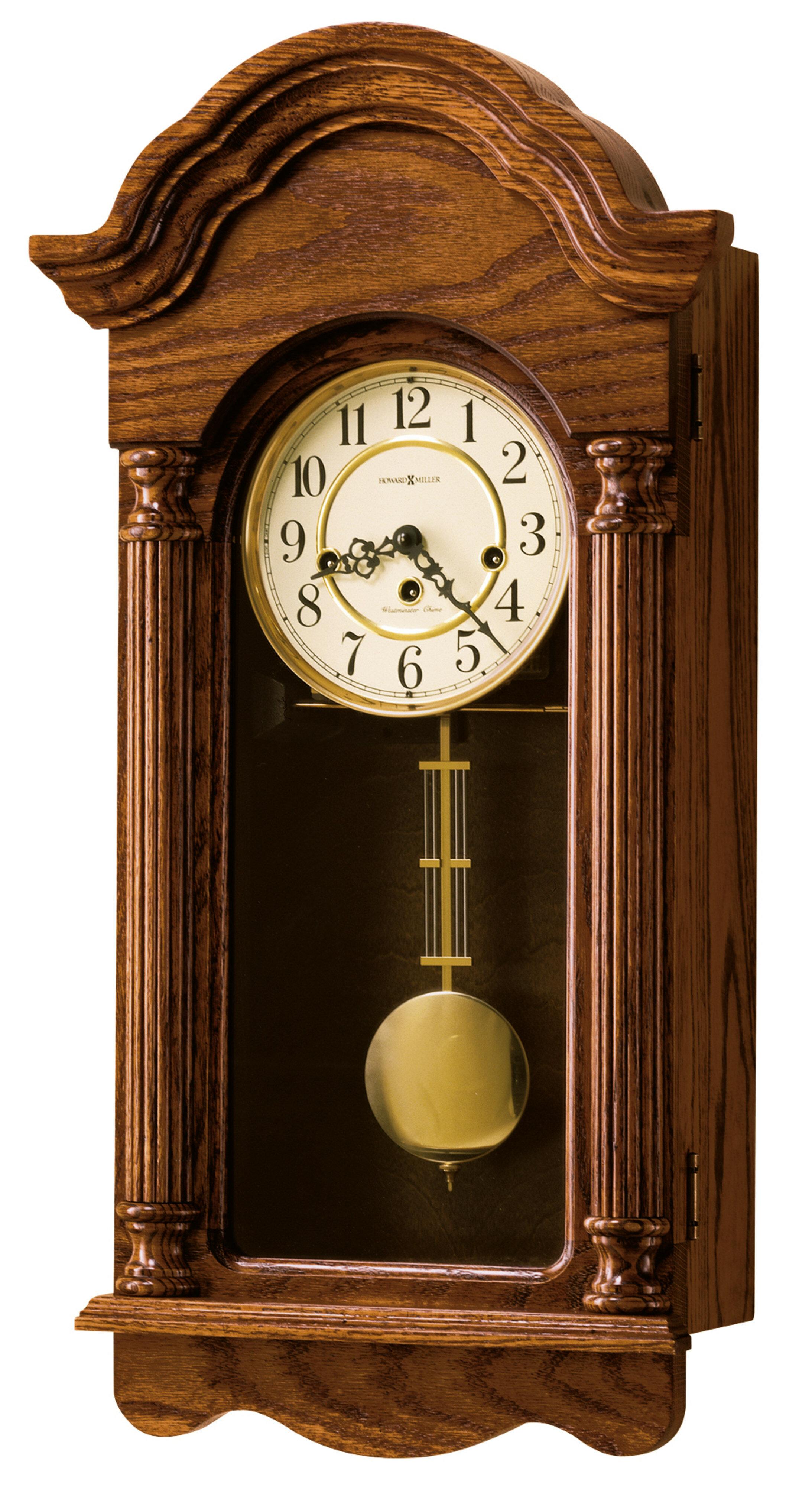 Howard Miller Chiming Key Wound Wall Clock Perigold