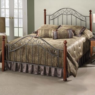 Cleo Panel Bed by Charlton Home No Copoun