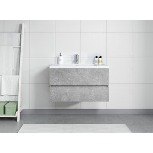 Prall 90mm Wall Hung Single Vanity Unit By Ebern Designs