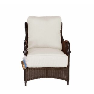 Montego Bay Lounge Chair with Cushion By Acacia Home and Garden