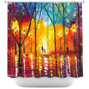 Guiding Light Single Shower Curtain