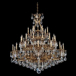 Schonbek Sophia 35-Light Chandelier