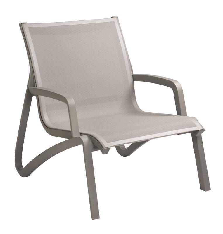 Charming Leighann Armless Lounge Chair