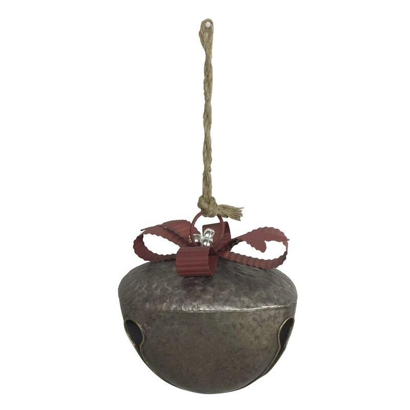 The Holiday Aisle Iron Christmas Bell Holiday Shaped Ornament Wayfair
