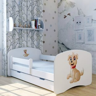 Dog Spike Bed With Mattress And Drawer By Zoomie Kids