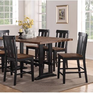 Goodman Counter Height Solid Wood Dining Chair (Set of 2)