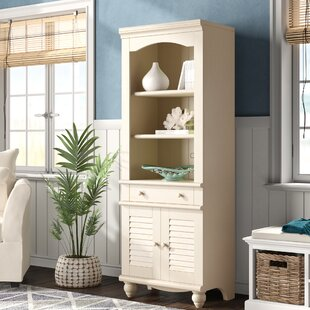 Pinellas Tall Standard Bookcase by Beachcrest Home