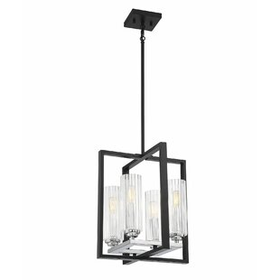 Killian 4-Light Lantern Chandelier by Bre..