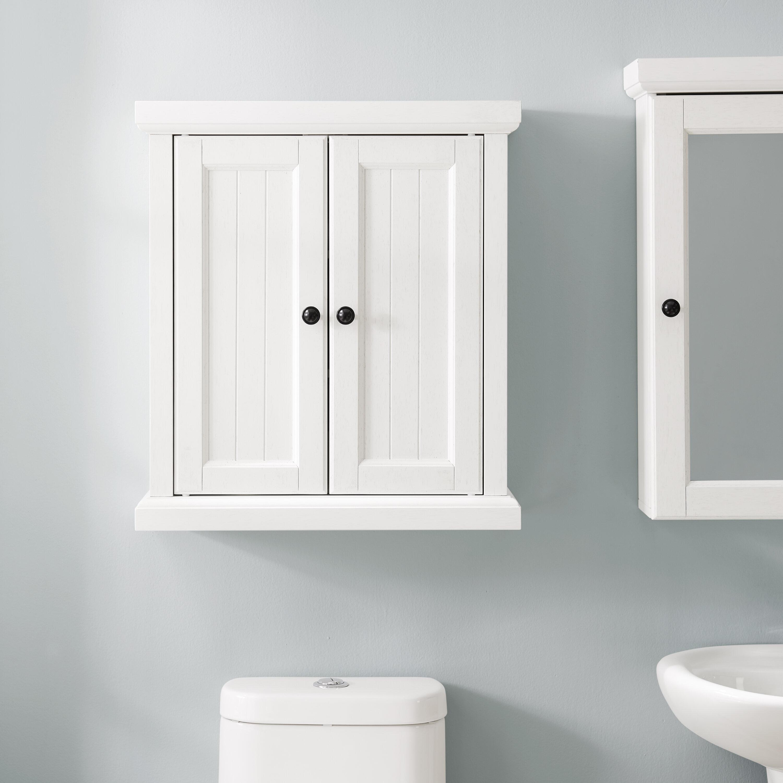 Coastal Farmhouse Carmel 23 5 W X 26 H X 8 D Wall Mounted Bathroom Cabinet Reviews Wayfair