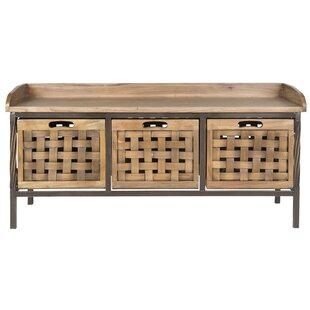 Free S&H Isabella Wood Storage Bench