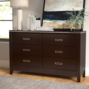 Latitude Run Lonny 6 Drawer Double Dresser