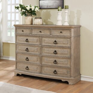 Pennington 11 Drawer Standard Dresser/Chest