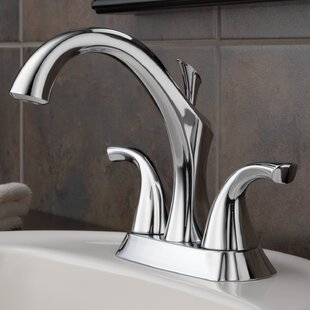 Delta Addison™ Centerset Bathroom Faucet with Drain Assembly and Diamond Seal™ Technology