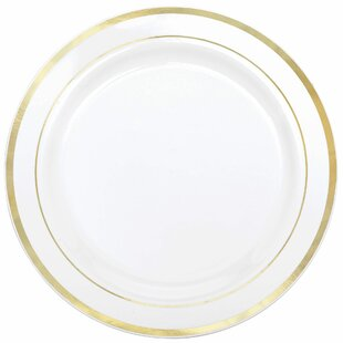 Rose Gold Disposable Plates Wayfair
