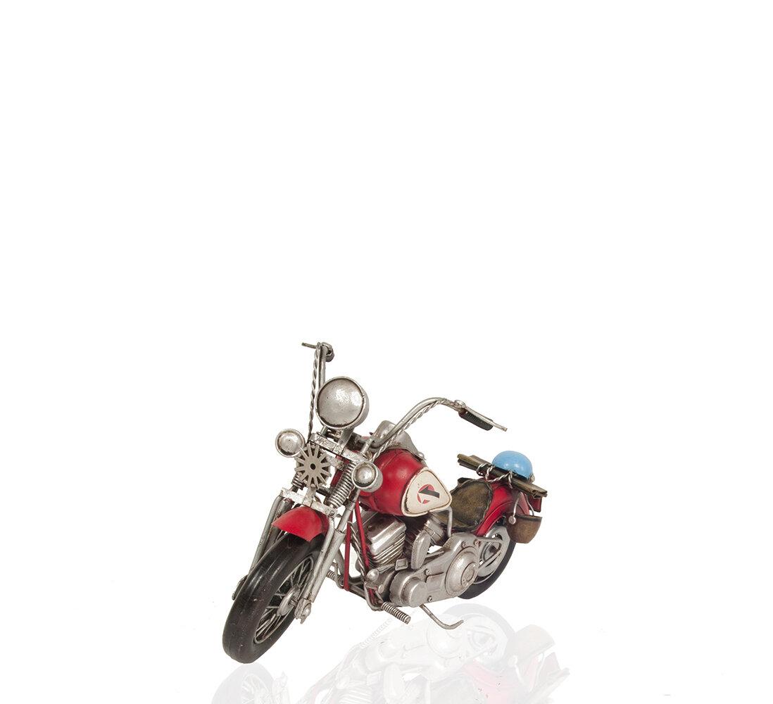 Winston Porter Leister Harley Davidson Motorcycle Metal Handmade