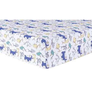 Great choice New Fish Fitted Crib Sheet By Trend Lab