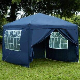 Deitz 3 X 3m Metal Pop-Up Party Tent By Sol 72 Outdoor