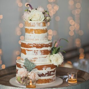 Round 5 Piece Naturals Wedding Cake Pan Set