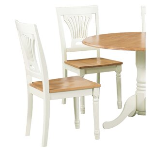 Erkson Solid Wood Dining Chair (Set of 4) Alcott Hill