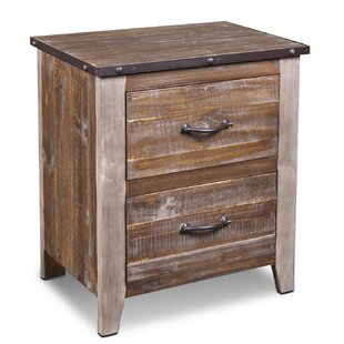Millwood Pines Kinsley 2 Drawer Nightstand