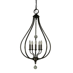 Alcott Hill Goldman 5-Light Foyer Pendant